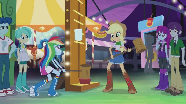File:Rainbow Dash tries the high-striker EG2.png