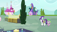 "Rarity ""for being such a dear friend"" S4E23"
