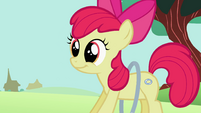 Apple Bloom showing of her loop-de-hoop S2E6