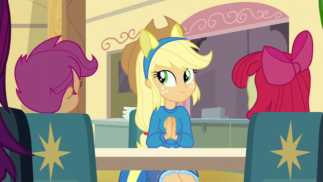 File:Applejack clapping EG.png