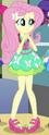 Fluttershy School Spirit ID EG3