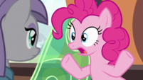 Pinkie talking in slow motion S7E4