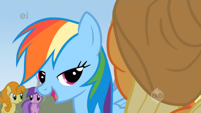 File:Rainbow Dash says yeah yeah S1E13.png