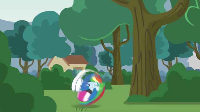 File:Rainbow Dash tucks and rolls EG3.png