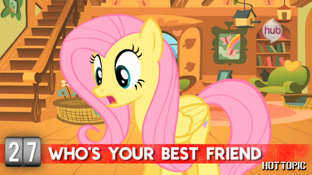 "File:Hot Minute with Fluttershy ""I can't decide"".png"