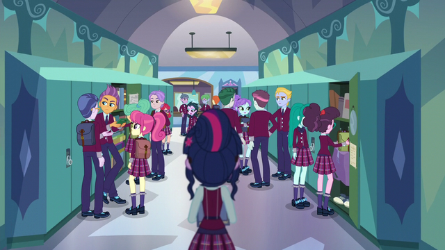 File:Twilight Sparkle alone at Crystal Prep EG3.png