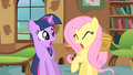 Fluttershy is covering up with coughing S1E22.png