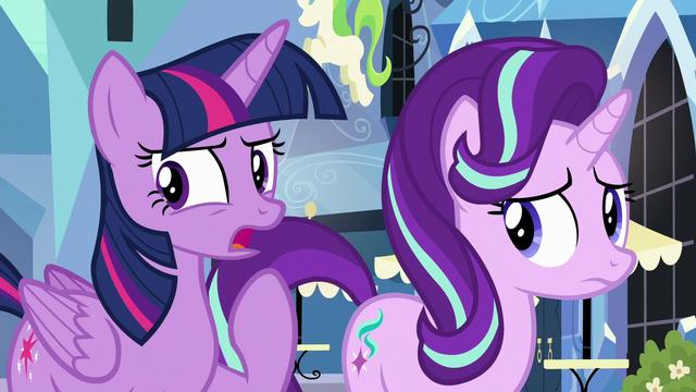 """File:Twilight """"something strange is definitely going on"""" S6E16.png"""