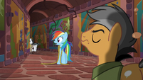 Caballeron and henchponies run away S6E13
