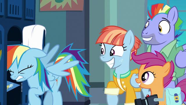 File:Rainbow Dash bangs her head against locker shelf S7E7.png