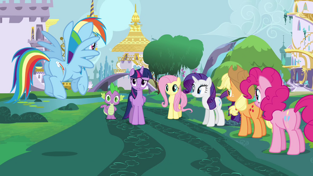 """File:Twilight Sparkle """"doesn't feel right"""" S4E01.png"""