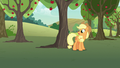 "Applejack ""as useful as a burned knot on a zapplin' tree"" S7E9.png"