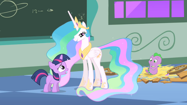 File:Filly Twilight and Celestia and Spike S1E23.png