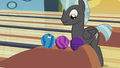 Thunderlane with the bowling balls S5E9.png