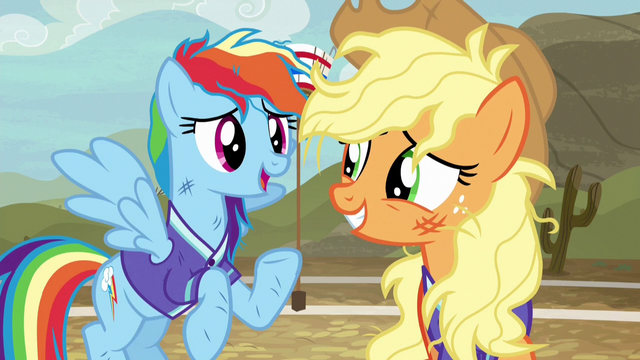"File:Rainbow Dash ""just as humiliating now"" S6E18.png"