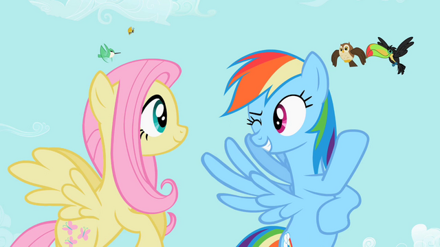 File:Rainbow Dash 'best of the litter' S2E07.png
