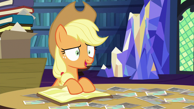 File:Applejack tells a story about Granny Smith S6E21.png