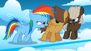 Filly Rainbow Dash 'In history, maybe' S1E23.png