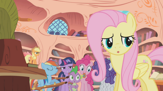 File:Fluttershy About To Speak S01E09.png