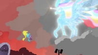 Rainboom alicorn EG2