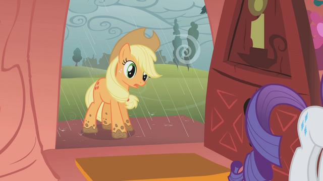File:Applejack has muddy hooves S1E08.png