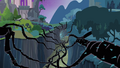 Black vines inside a ravine S04E02.png