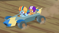 "Rainbow ""speed is king, end of story"" S6E14"