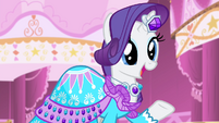 Rarity 'that's just perfect!' S4E13