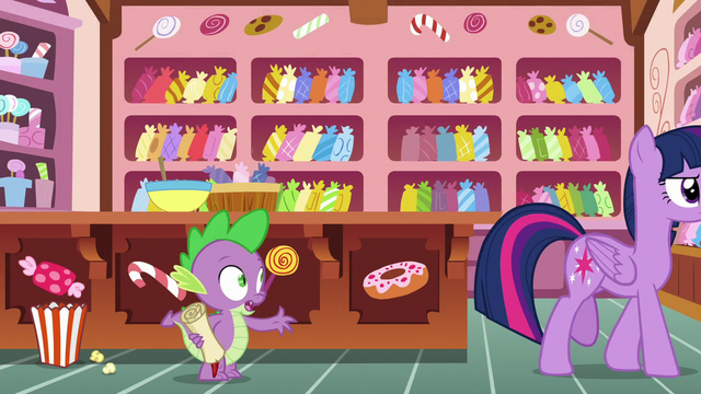 """File:Spike """"I just really, really wanna know"""" S6E22.png"""