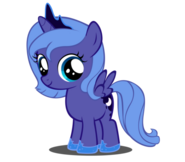 FANMADE Young Princess Luna