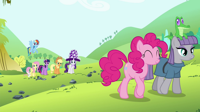 File:Pinkie Pie's friends see Pinkie Pie and Maud leaving S4E18.png