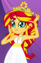 Sunset Shimmer first princess dress ID EG