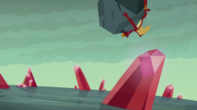 File:Garble and boulder tumble toward the beach S6E5.png