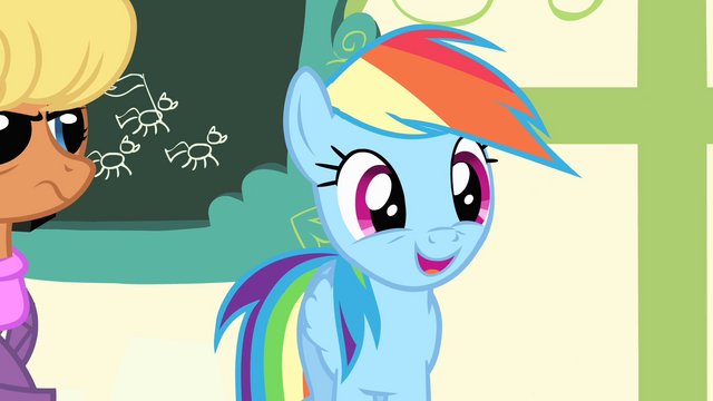 "File:Rainbow Dash ""all you gotta do"" S4E05.png"