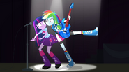 Rainbow Dash in Twilight's space EG2