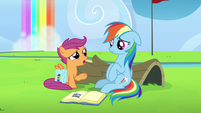 "Scootaloo ""and you yelled at them"" S7E7"