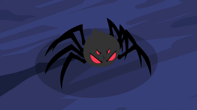 File:Toy spider transformed into real spider S2E04.png