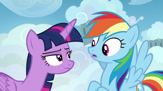 File:Twilight glaring disapprovingly at Rainbow Dash S6E24.png