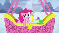 "Pinkie Pie ""that was a hard one, Gummy"" S7E11"