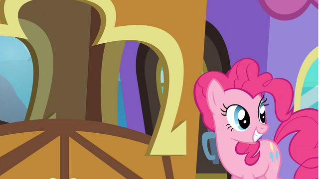 File:Pinkie Pie grinning after Twilight S4E22.png