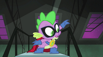 Spike looking for Fluttershy S4E06