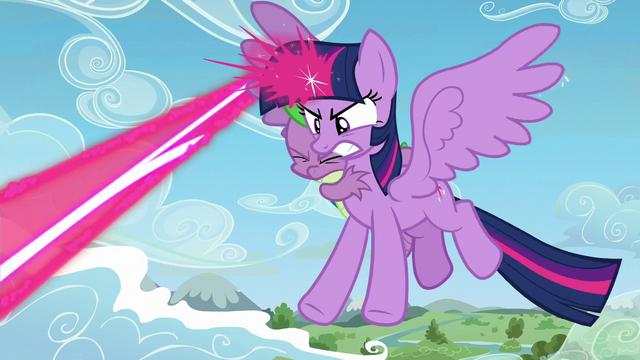 File:Twilight Sparkle zapping magic beam S5E26.png
