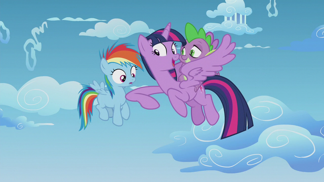 File:Twilight challenges Rainbow Dash to a race S5E25.png