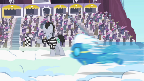 Fleetfoot wins the Wonderbolts derby S2E9.png
