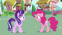 "Pinkie Changeling ""where were you?"" S6E25"