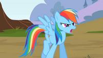 Rainbow Dash walking S2E07