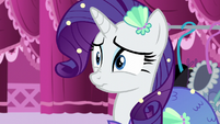 Rarity scrunchy face S5E21