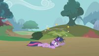 Twilight dazed by bunny stampede S2E2