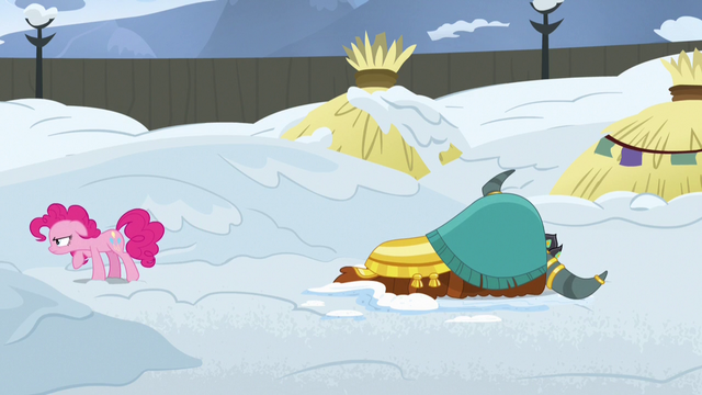File:Pinkie Pie angrily stomps away from Rutherford S7E11.png