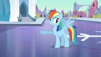 Rainbow Dash 'Pretty good mood' S3E2